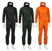 Men waterproof One piece Work Hooded Coveralls Overall Jumpsuit Boiler Suit Dustproof Male Workshop Uniforms