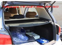 JIOYNG Car Rear Trunk Security Shield Cargo Screen Shield shade Cover Fits For Volkswagen VW Golf 6 MK6 2008 2013 (Black, beige)