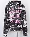 new Fashion  man Social Club Hoodie Anti Social Social Club Hooded Camouflage Sweatshirts