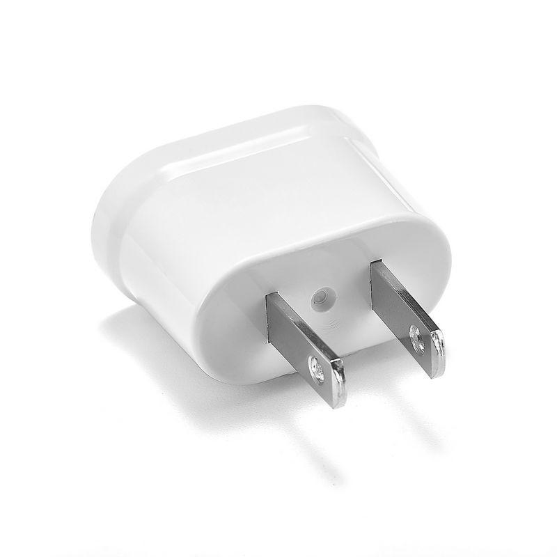 500pcs US American European Australian Plug Adapter EU To US EU Japan China Travel Power Adapter Outlet Electric Power Sockets