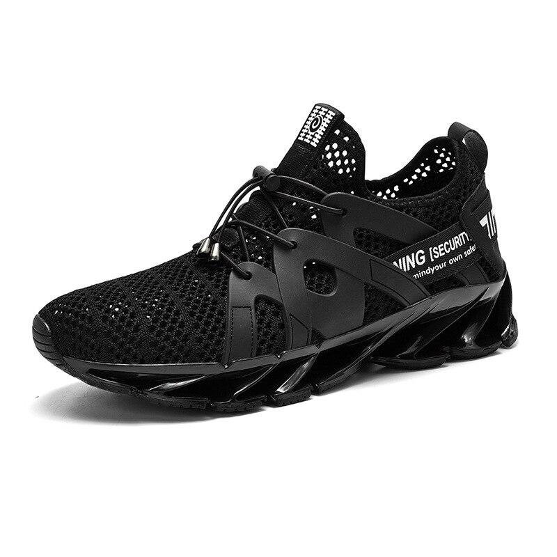 Hommes chaussures de course lame chaussure respirante Sport chaussures en caoutchouc 720 cordon boucle mâle hommes chaussures Gym hommes baskets mâle coureur