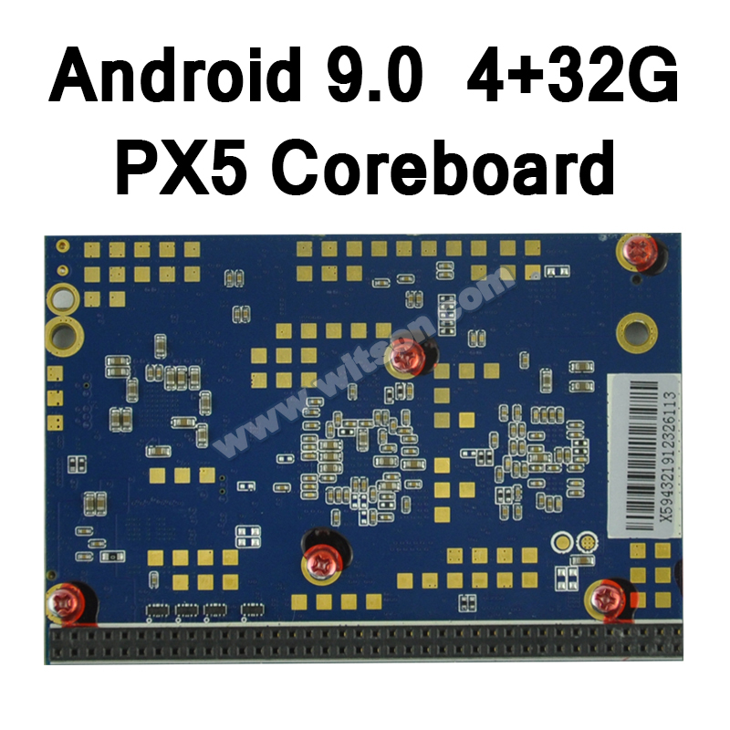 Free shipping WITSON Android 9 0 PX5 4G RAM 32GB Flash Coreboard For Android DVD gps