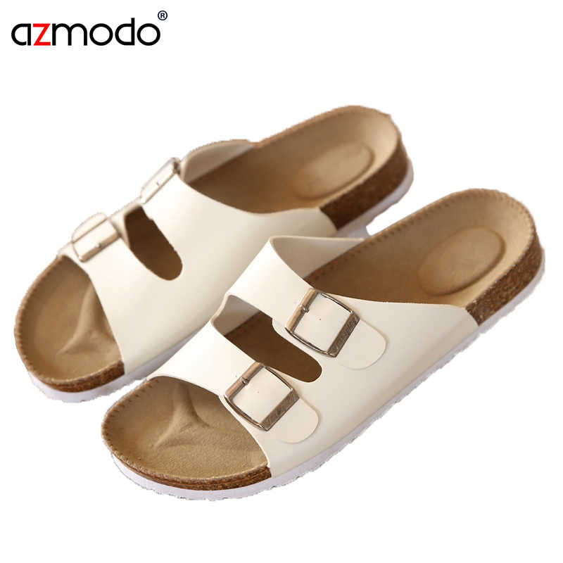 Shoes Mens Man Slippers Flip Flops Chinelo Sandals Zapatos Hombre shoes+male Slides Men Lovers Cork Male Summer Beach Sandals