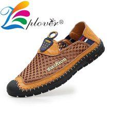 Summer Breathable Mesh Men Casual Shoes Fashion Light Men Shoes Trainers Moccasins Leather Shoes For Men Footwear Plus Size 46