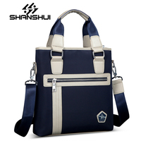 Male Bags Waterproof Nylon Oxford Cloth Travel Bag Fashion Business Men Shoulder Bags Casual Messenger Bag