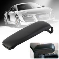 1PC Car Center Console Leather Armrest Cover For Audi A4 A4L B6 B7 4Doors 2002 2003