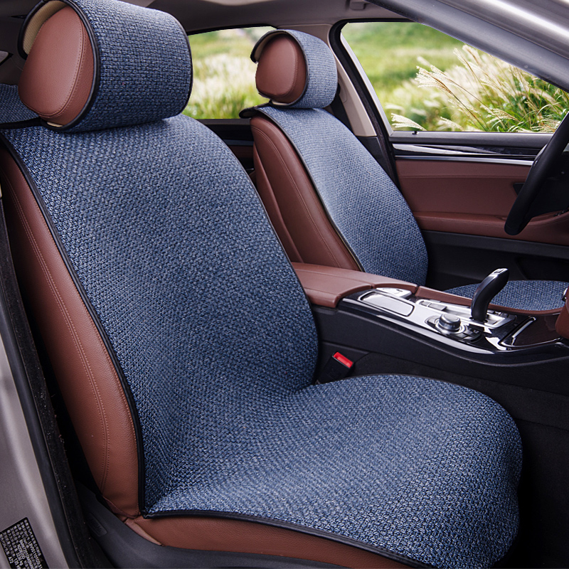 Yuzhe Linen car seat cover For Mazda 3 6 2 C5 CX-5 CX7 323 626 M2 M3 M6 Axela Familia car accessories car styling cushion new luxery flax universal car seat covers for mazda 3 6 2 c5 cx 5 cx7 323 626 axela familia car automobiles accessories cushion