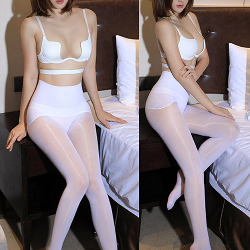 <font><b>Sexy</b></font> Pantyhose <font><b>Open</b></font> <font><b>Crotch</b></font> <font><b>Erotic</b></font> <font><b>Lingerie</b></font> <font><b>Sexy</b></font> Stockings Sheer Crotchless Tights <font><b>For</b></font> <font><b>Women</b></font> Thigh High Female Stockings image