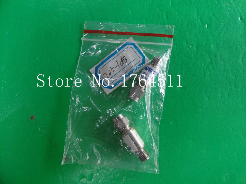 [BELLA] MIDWEST 205-1dB DC-12.4GHz 1dB 2W SMA Coaxial Fixed Attenuator  --3PCS/LOT