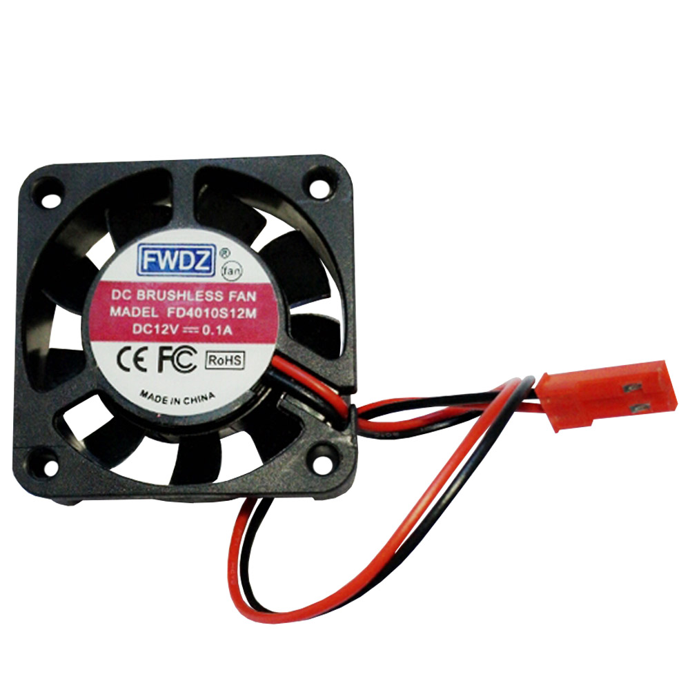 JST Connector 40MM 30MM 25MM DC Brushless Fan Cooling For RC Car Boat Helicopter