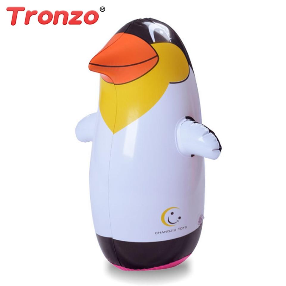 Tronzo Outdoor Fun Und Sport 36 Cm Aufblasbare Pinguin Spielzeug Weichen  Kunststoff Tumbler Aufblasbare Pinguin Für