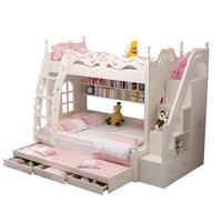 De Maison современный Dormitorio комнаты мебель Letto, Castello окна освещенной Enfant Mueble мебель для спальни Кама Moderna двухъярусная кровать
