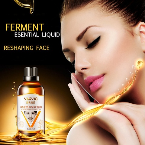 30ml Face-lifting Essential Oils Removing Double Chin V-Shaped Face Massage Oil Firming Skin Products Health Care Face Multan