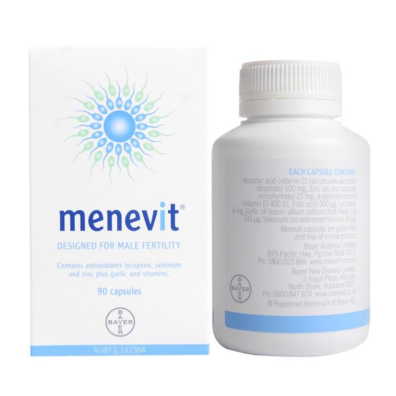 Image 3 - Australia Elevit Pregnancy Multivitamin for Men Menevit Male Fertility Supplements Support Sperm Babys healthy development-in Body Self Tanners & Bronzers from Beauty & Health