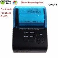 OOTDTY ZJ 5805 Bluetooth 4 0 Android 4 0 POS Receipt Portable Thermal Printer Bill Machine