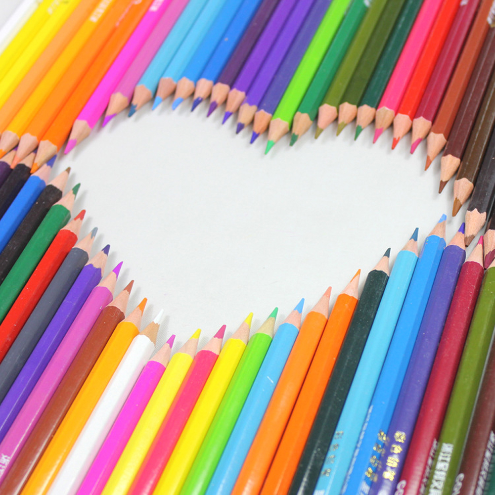 36 Colors Drawing Pencil Set Non-toxic Colored Pencils with Case Wax Pencils for Art School Stationery Christmas Gifts 9