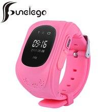 Funelego Q50 умный ребенок часы gps tracker дети электронный Анти-Потерянный малыш безопасности наручные часы с СИМ-карты мобильного телефона часы