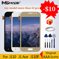 Original LCDs For Samsung Galaxy J1 Ace 2016 J110 J110H J110F J110M LCD Display Touch Digitizer Screen Replacement Parts