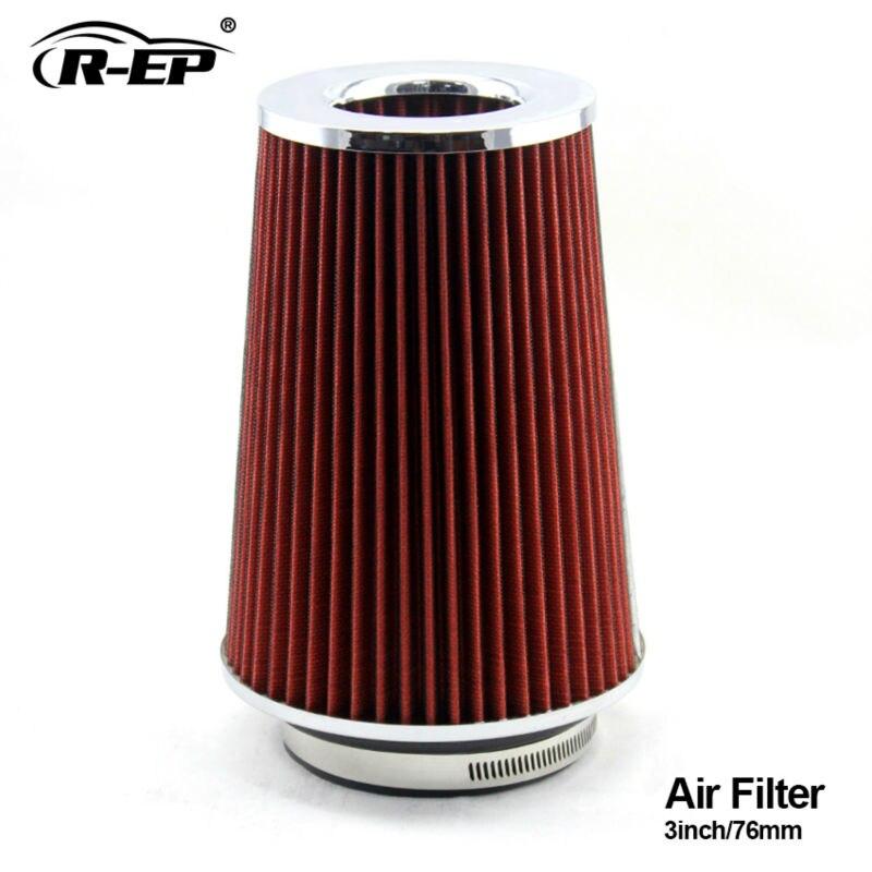 Air Cleaner Through Hood : R ep car mm cold air filter supercharger inch hood