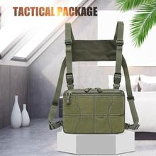 Nylon Adjustable Chest Rig Waist Bag Hip Hop Cross Shoulder Bag Outdoor Men Women New Characteristic Outdoor Bags