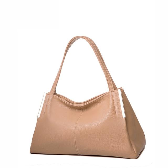 AMELIE GALANTI women famous design shoulder bag luxury fashion casual top-handle bag saffiano solid sequin slit pocket
