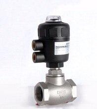1 «дюймовый 2/2 способ пневматический клапан управления глобус угол сиденья клапан нормально закрытый 80 мм PA привод