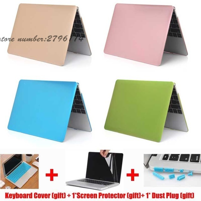 For macbook air 13 case Metal Gold Hard Case For Apple Macbook Pro 13 Air 11 13 15 Retina laptop bag For Macbook Pro 13 case