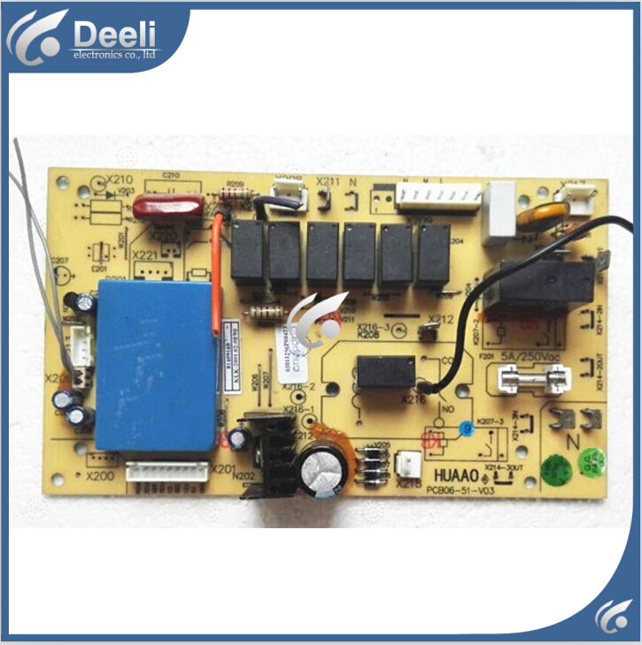 95% new good working for air conditioning Computer board PCB06-51-V03 motherboard good working95% new good working for air conditioning Computer board PCB06-51-V03 motherboard good working