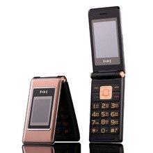 """2.6 """"รัสเซียคีย์บอร์ด dual sim ราคาถูกอาวุโสโทรศัพท์มือถือ gsm จีนโทรศัพท์ Elder clamshell โทรศัพท์มือถือ H  โทรศัพท์มือถือ MK008"""