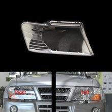 For Mitsubishi Pajero V73 V75 V77 03 11 Headlamps Shell Transpa Lampshade Headlight Cover Lens Gl