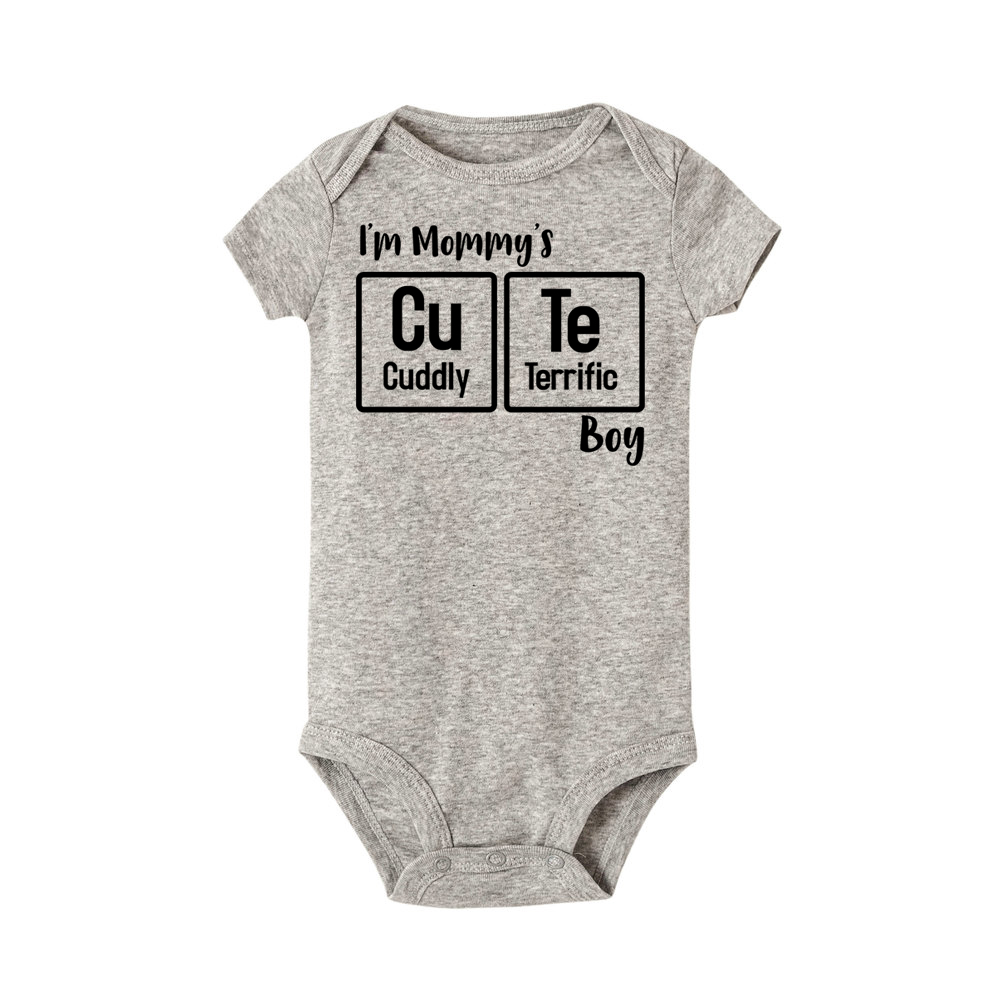 1d0ea4bc6f2 Detail Feedback Questions about I m Mommy s Cute Boy rompers Newborn ...