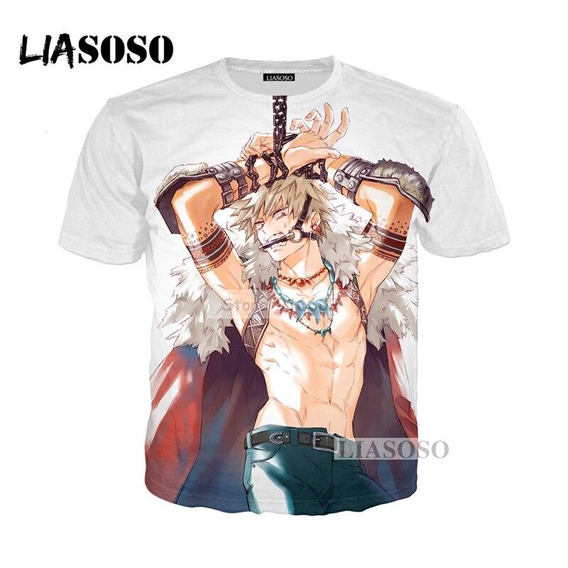LIASOSO NEW Anime Boku No Hero My Hero Academia Cosplay Tees 3D Print t shirt/Hoodie/Sweatshirt Unisex Good Quality Tops G774
