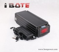 48V 20Ah E Bike Battery Rear Rack Type Battery 48 Volt With 18650 Batteries And Charger