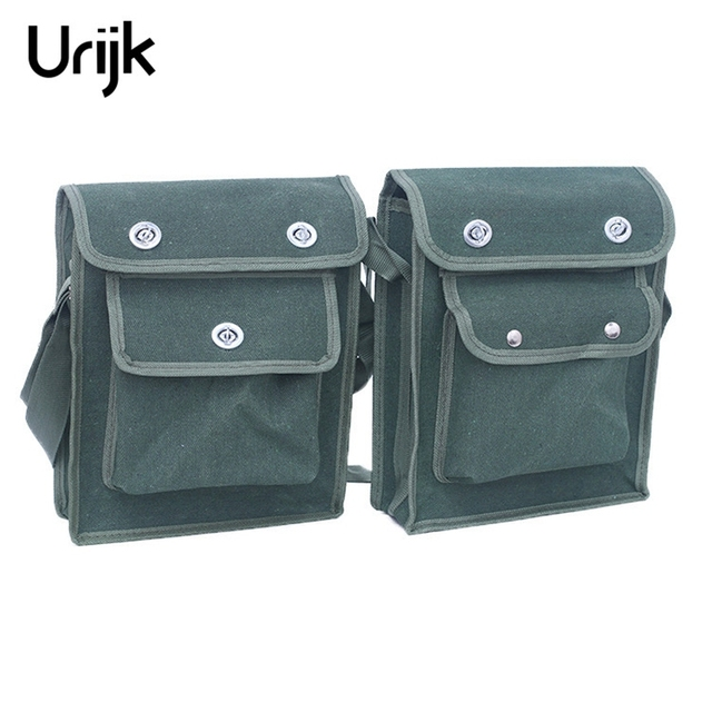 Urijk Multifunction Repair Tool Bag 600d Double Layers Oxford Fabric Waist Pack For