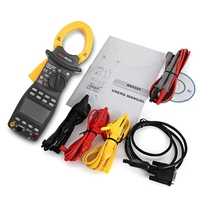 PEAKMETER MS2205 Clamp Meter AC RMS Active Power Factor Passive Frequency Harmonic Tester Resistance Voltage Diode Capacitance