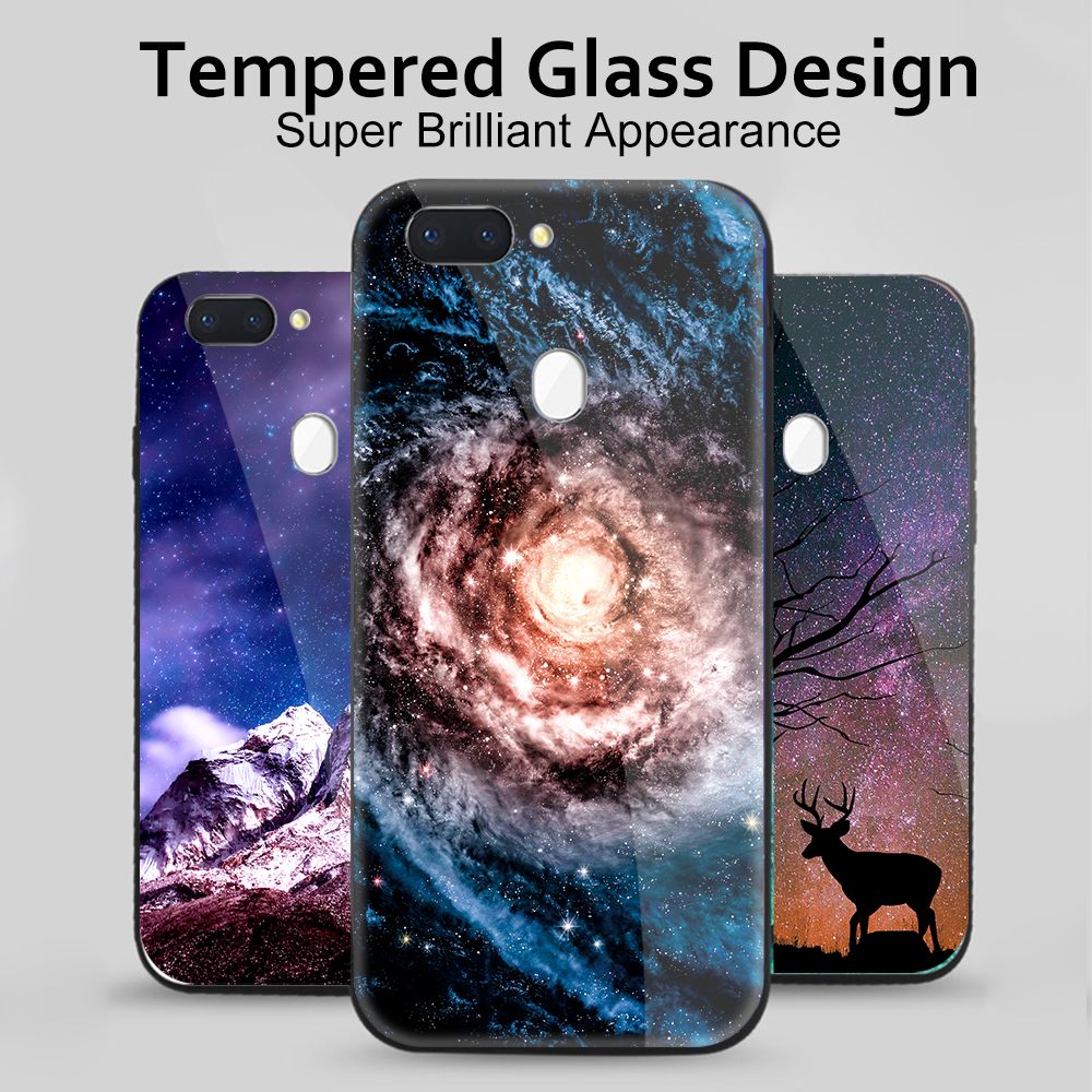 Luxury Colorful Phone Case For Xiaomi Mi A1 A2 Lite Note 3 Pocophone F1 Glass Cover Cases For Xiaomi Mi 9 8 Lite Mi9 Se 6 Coque Perfect In Workmanship Phone Bags & Cases Fitted Cases