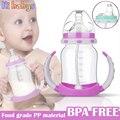 180 ML Copo de Alimentação Do Bebê de Alimentação Do Bebê Garrafas de Garrafas de Água com Alças 2 pcs Leite Enfermagem Copo Bebendo Bebê Nibbler garrafa