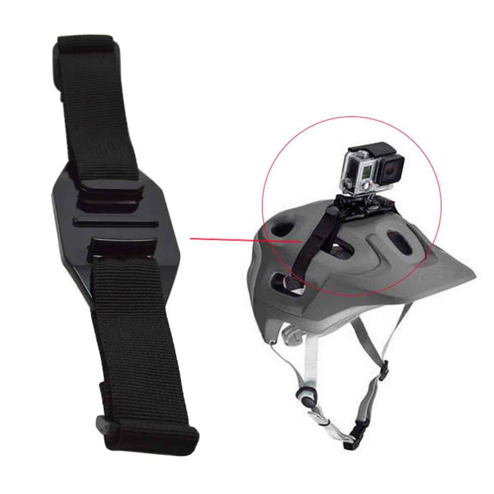 Stable Adjustable Bicycle Sports Vented Action Camera Helmet Strap Mount Belt for GoPro