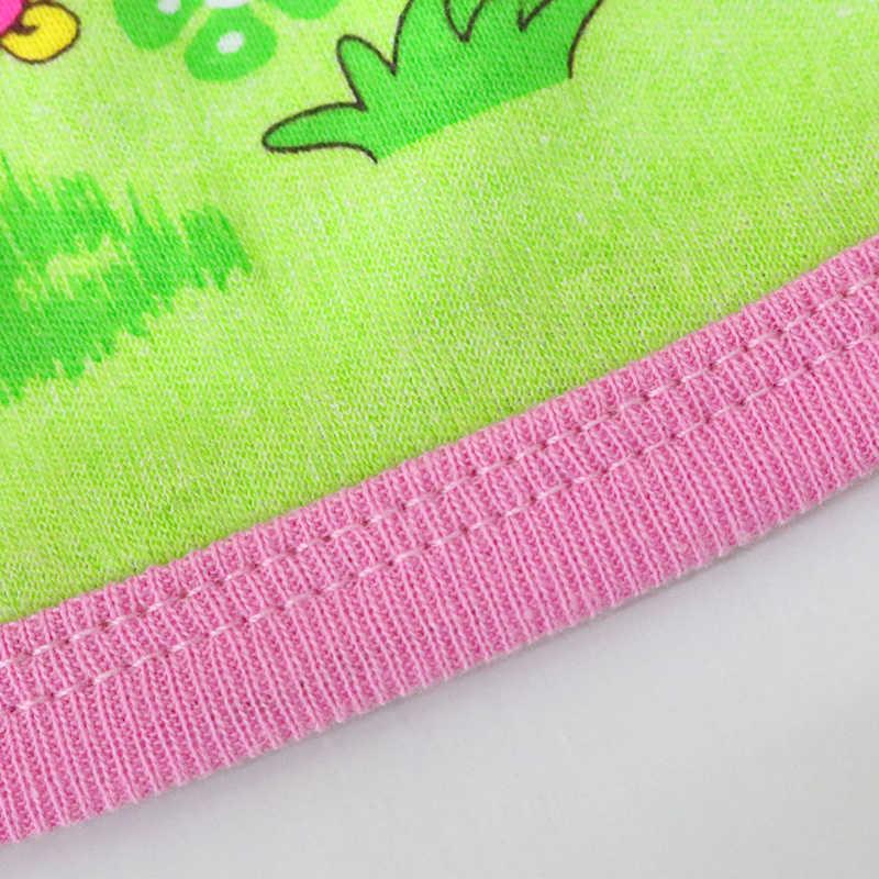 子供夏ブラウス少年少女のファッションラウンドネックシャツベビー下着純粋な綿 2019 服リトル q 衣装