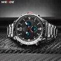 WEIDE Mens Sport Top Luxus Marke Quarz Bewegung Wasserdicht Uhren Hombre Mode Casual Alarm Digital Armbanduhr Uhr Quarz-Uhren Uhren -