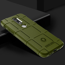 Soft Armor Case For Nokia 7.1 X7 8.1 Cases Silicone Shield Protective Covers for Nokia 7.1 TA-1085 TA-1095 TA-1096 TA-1097