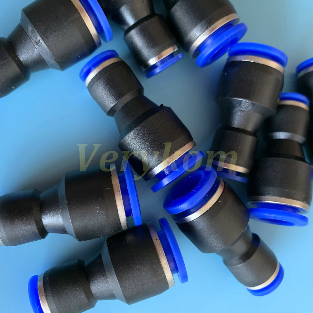 10x Pneumatic Male Elbow Connector Tube OD 1//8 4mm X NPT 1//4 PU Air Push in PAKA HAND TOOLS