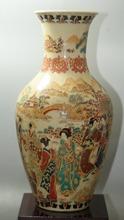 Fine Old China porcelain painted Old Glaze porcelain Vases Collectible porcelain painted Vases cheap Classic Ceramic Tabletop Vase