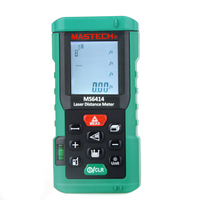 MASTECH MS6414 Digital Laser Rangefinder Accuracy Laser Distance Meter 40M +/ 2mm Area Volume Tape Distance Measuring Tool