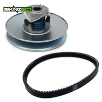 BIKINGBOY Secondary Driven Clutch Assembly With Clutch Belt For Club Car DS & Precedent Gas 1997 Up OEM 101834001 1016203