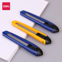 Deli large paper cutter paper cutter wallpaper knife office stationery cutting blade and knife durable good quality for adult