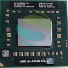 AMD Laptop Notebook CPU processor A6 3400M series A6 3420M A6 3420M 1.5Ghz/4M Socket FS1 A6 3420M AM3420DDX43GX-in CPUs from Computer & Office on AliExpress