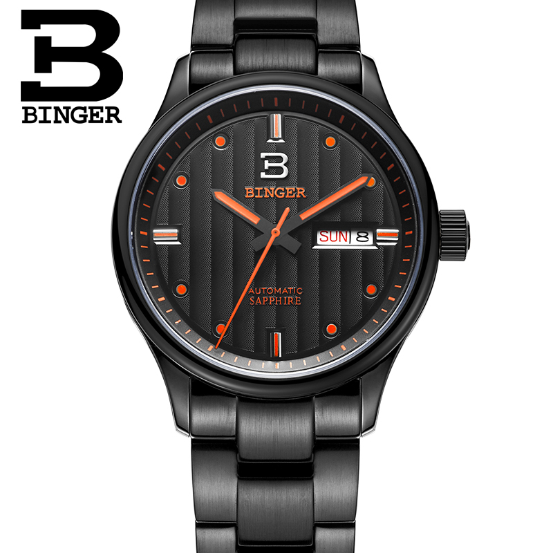 online get cheap engravable mens watches aliexpress com alibaba 2016 new binger men s watch fashion casual luminous engraved wrist watch top brand luxury chronograph date