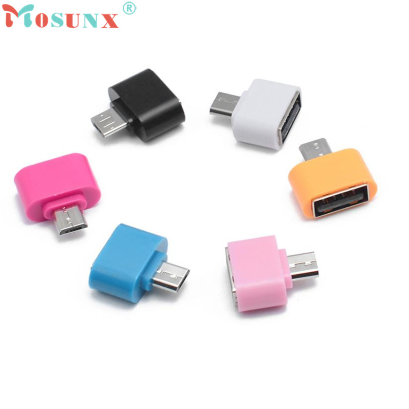 Adroit New 1PC Micro USB To USB OTG Mini Adapter Converter For Android SmartPhone S61027 drop shipping hightek hu 03 universal usb to rs485 422 converter adapter