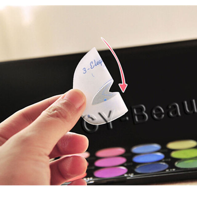 1 Pack Makeup Eye stencils Cat Eye stencil Template Eyeshadow Tools Useful Eye shadow Cosmetics Make up Accessories Kit 5